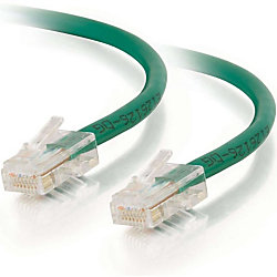 C2G-150ft Cat6 Non-Booted Unshielded (UTP) Network Patch Cable - Green - Category 6 for Network Device - RJ-45 Male - RJ-45 Male - 150ft - Green