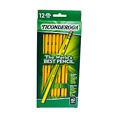 Dixon Ticonderoga Pencils 2 Soft Lead