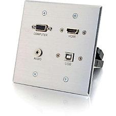 C2G HDMI VGA 35mm and USB