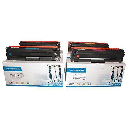 M&A Global Cartridges CF410X/411X/412X/413X (HP 410X / 411X / 412X / 413X) High-Yield Remanufactured Black/Cyan/Magenta/Yellow Toner Cartridges, Pack Of 4