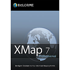 XMap Professional With Topo Street Data