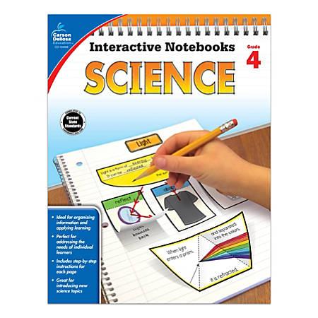 Carson-Dellosa Interactive Notebooks: Science, Grade 4