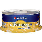 DVD+RW Rewritable Discs