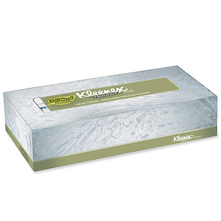 Kleenex® Naturals Premium Facial Tissue, Box Of 125 Sheets