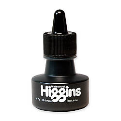 Higgins Waterproof India Ink Black 1