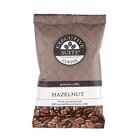 Executive Suite Coffee, Hazelnut, 2 Oz, Pack Of 24
