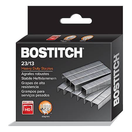 "Bostitch Heavy-Duty Staples, 1/2"" Standard, Box Of 1,000"