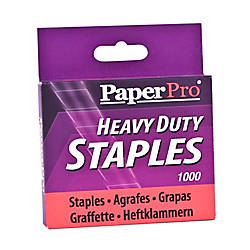 PaperPro Heavy Duty Staples 12 Standard