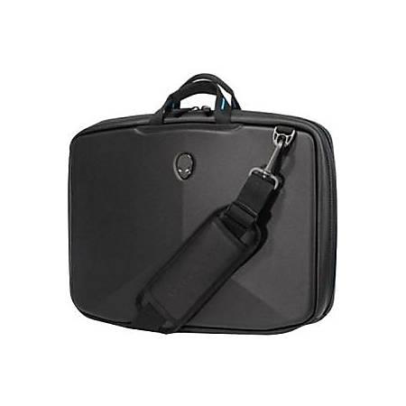 "Mobile Edge Alienware Vindicator Carrying Case (Briefcase) for 15.6"" Notebook - Black, Teal"