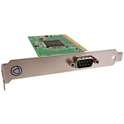 Perle SPEED1 LE Express 1 Port PCI Express Serial Card - 1 x 9-pin DB-9 Male RS-232 Serial