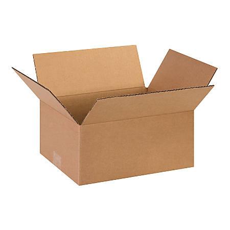 "Office Depot® Brand Corrugated Cartons, 13"" x 10"" x 6"", Kraft, Pack Of 25"