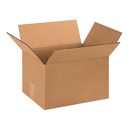 "Office Depot® Brand Corrugated Cartons, 13"" x 10"" x 8"", Kraft, Pack Of 25"