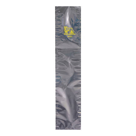 """Office Depot® Brand Open End Static Shielding Bags 12"""" x 25"""", Transparent, Box of 100"""