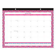 Office Depot Brand Boho Floral Monthly