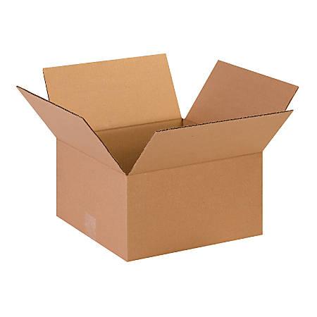 "Office Depot® Brand Corrugated Cartons, 13"" x 13"" x 7"", Kraft, Pack Of 25"