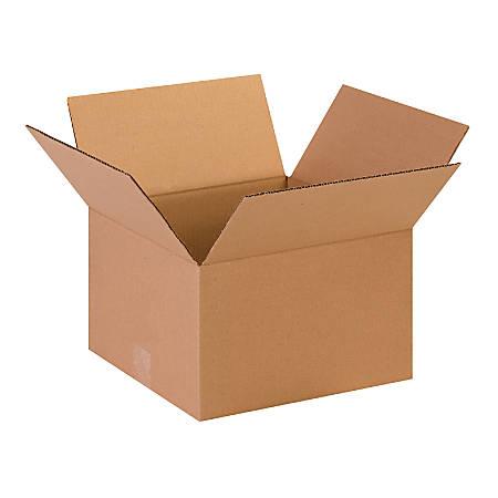 "Office Depot® Brand Corrugated Cartons, 13"" x 13"" x 8"", Kraft, Pack Of 25"