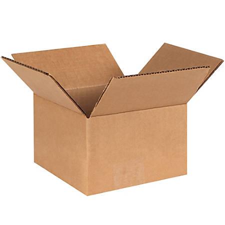 "Office Depot® Brand Corrugated Cartons, 6"" x 6"" x 4"", Kraft, Pack Of 25"