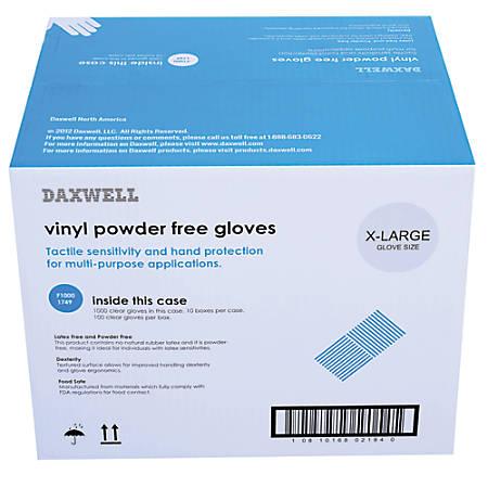 GLOVE PF VINYL XL 1C/BX