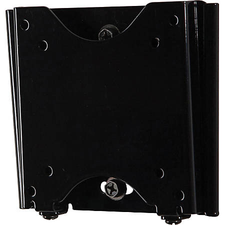 """Peerless PF630 Paramount Flat Wall Mount - For Flat Panel Display - 10"""" to 29"""" Screen Support - 50 lb Load Capacity - Black"""