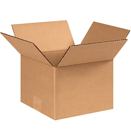 "Office Depot® Brand Corrugated Cartons, 8"" x 8"" x 6"", Kraft, Pack Of 25"