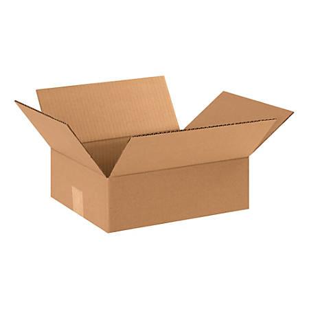 "Office Depot® Brand Corrugated Cartons, 12"" x 10"" x 4"", Kraft, Pack Of 25"