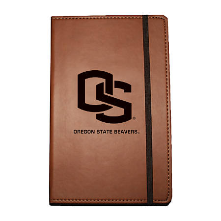 "Markings by C.R. Gibson® Leatherette Journal, 6 1/4"" x 8 1/2"", Oregon State Beavers"