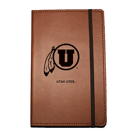 "Markings by C.R. Gibson® Leatherette Journal, 6 1/4"" x 8 1/2"", Utah Utes"