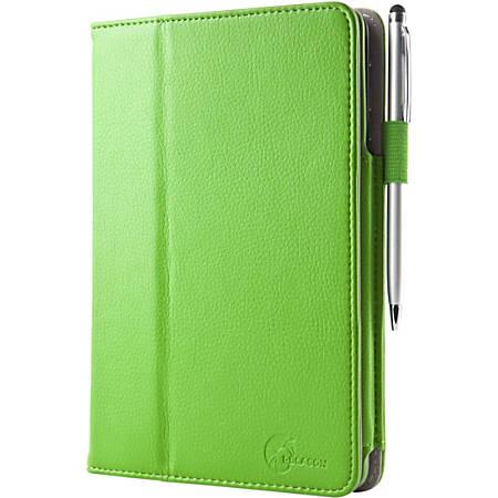 i-Blason Slim Book Carrying Case (Book Fold) iPad mini 3, iPad mini with Retina Display, iPad mini, Credit Card - Green