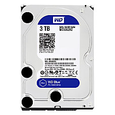 WD Blue 3TB 35 Internal Hard