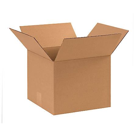 "Office Depot® Brand Corrugated Cartons, 11"" x 11"" x 9"", Kraft, Pack Of 25"