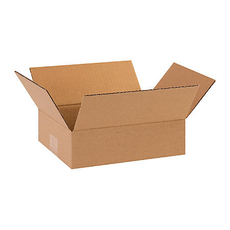 "Office Depot® Brand Corrugated Cartons, 10"" x 8"" x 3"", Kraft, Pack Of 25"