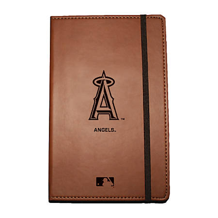 "Markings by C.R. Gibson® Leatherette Journal, 6 1/4"" x 8 1/2"", Los Angeles Angels"