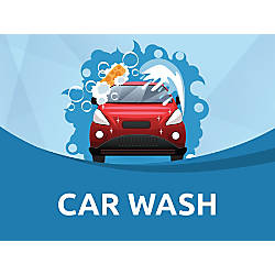 Customizable Yard Sign Car Wash 18