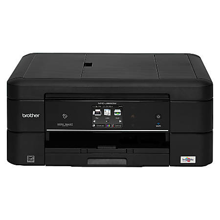 Brother Wireless Color Inkjet All-In-One Printer, Scanner, Copier And Fax, MFC-J885DW