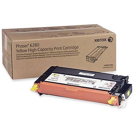 Xerox® 106R01394 High-Yield Yellow Toner Cartridge