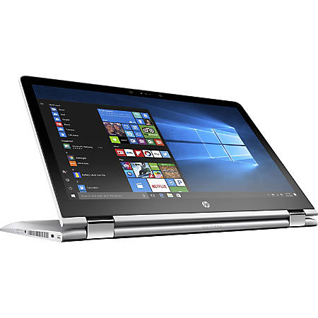 "HP Pavilion x360 15-br075nr Convertible Laptop, 15.6"" Touch Screen, 7th Gen Intel® Core™ i3, 8GB Memory, 1TB Hard Drive, Windows® 10 Home"