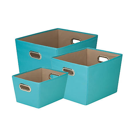 Honey-Can-Do Tote Kit, Turquoise