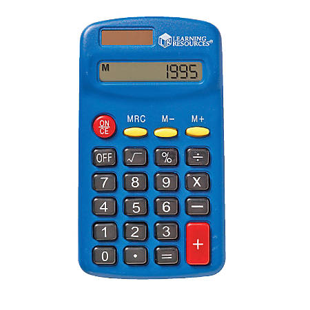 Learning Resources® Primary Calculator, Pack Of 10
