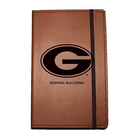 "Markings by C.R. Gibson® Leatherette Journal, 6 1/4"" x 8 1/2"", Georgia Bulldogs"