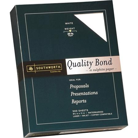 southworth 31 620 10 laser and inkjet print bond paper letter size