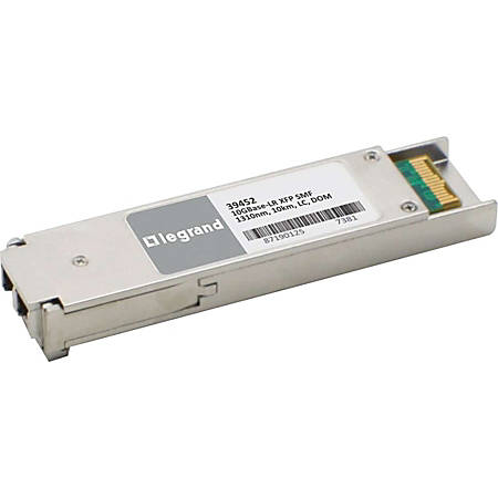 C2G Cisco XFP10GLR-192SR-L Compatible 10GBase-LR SMF XFP Transceiver Module - For Optical Network, Data Networking 1 LC 10GBase-LR Network - Optical Fiber Single-Mode - 10 Gigabit Ethernet - 10GBase-LR - 10 Gbit/s - Hot-swappable
