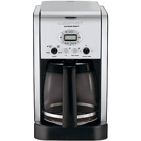 Cuisinart Extreme Brew 12-Cup Programmable Coffeemaker - Programmable - 12 Cup(s) - Multi-serve - Coffee Strength Setting