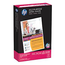 HP Multipurpose Paper Ledger Paper Size