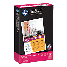 HP Multipurpose Paper Ledger Paper Size