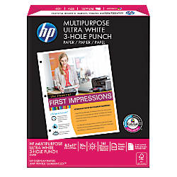 HP Multipurpose Paper 3 Hole Punched