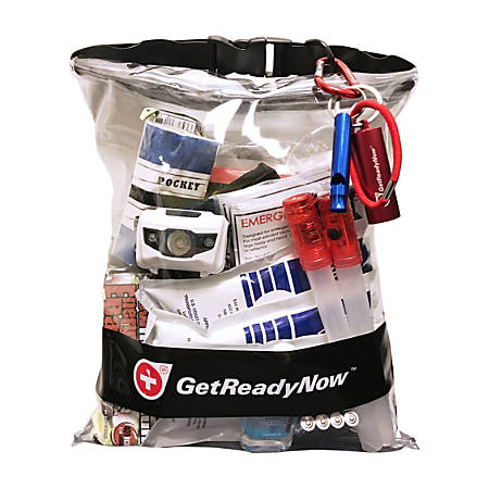 Get Ready Room Emergency Preparedness Pack, Vehicle, VEP 101