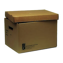 File Storage Boxes 10 x 12