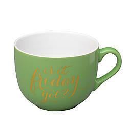 Gartner Studios Soup Mug Stripe Friday