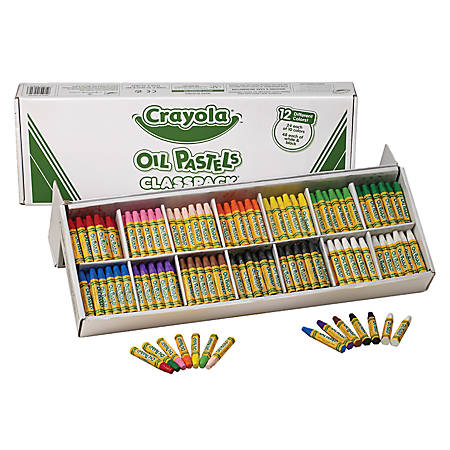 Crayola® Oil Pastels Classpack®, Set Of 336