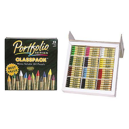 Crayola® Portfolio® Series Oil Pastels, Assorted Colors, Set Of 300